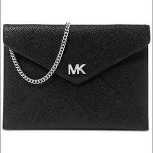 MICHAEL MICHAEL KORS Barbara Envelope Clutch Black